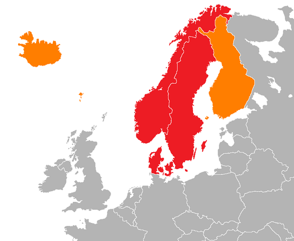 File:Map of Scandinavia.png