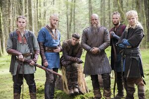 Old Ragnar and his sons