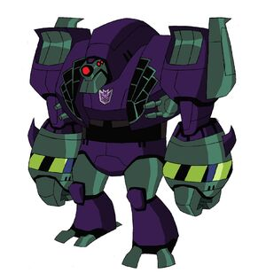 Lugnut Transformers Animated
