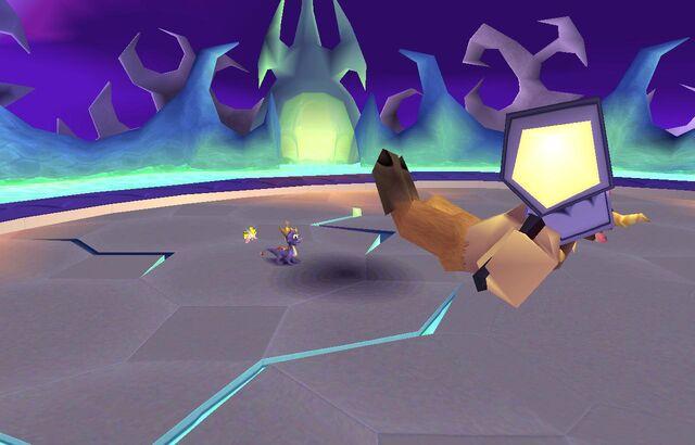 File:Spyro defeated Spike.jpg