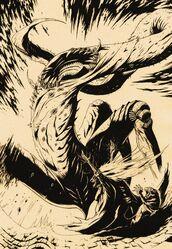 Nyarlathotep evoked by Keziah Mason