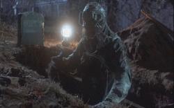 Jason in Jason Lives unmasked