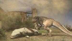 Dinocroc vs Supergator (2010)