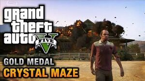 GTA 5 - Mission 20 - Crystal Maze 100% Gold Medal Walkthrough
