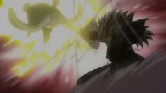 Laxus and Tempesta fight again