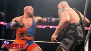 Ryback vs the Big Show