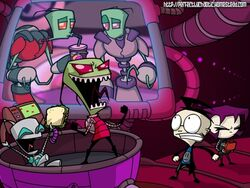 Sandwiches invader zim food gir the tallest zim dib gaz 1600x1200 wallpaper www.wallpaperno.com 71