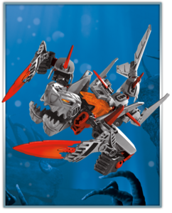 Jawblade on Scylla (toy figure)