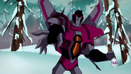 Starscream in Animated Series