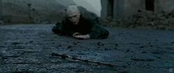 Voldemort crawling