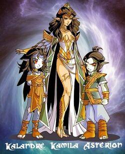 La famille de Kalandre