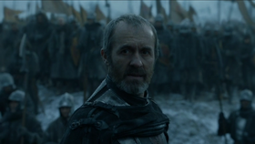 Stannis watches Bolton army