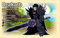 Drakath Character Page