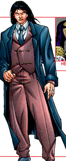 Shinobi Shaw (Earth-616) from X-Men Earth's Mutant Heroes Vol 1 1