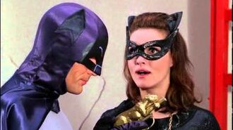 Batman & Catwoman, top sexy scene (Adam West & Julie Newmar-HD)