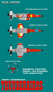 Gerry andersons thunderbirds zombite fighter by arthurtwosheds-d7a4r58
