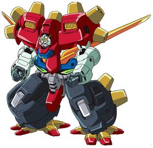 JDG-00X Devil Gundam front