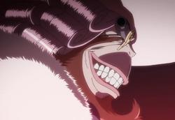 Dr. Gel's evil grin