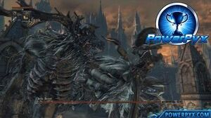 Bloodborne - Cleric Beast Boss Fight (Boss 1)