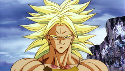 Broly in Second Coming