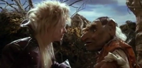 Jareth and Hoggle