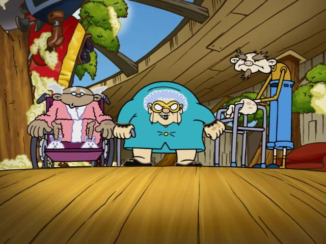The Senior Citizen Squad