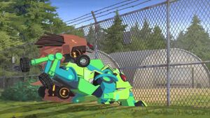 Quillfire and Springload on Army's Base.