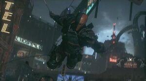Batman Arkham Knight Deathstroke Boss Fight