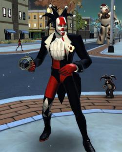 Black-harlequin