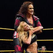 Evil Nia vs Carmella