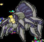 Flying spider concept art