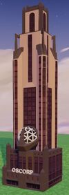 The OsCorp Tower building