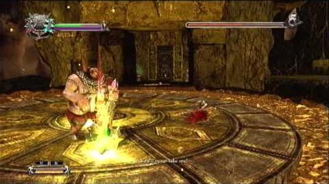 Dante's Inferno Boss Battle - Alighiero