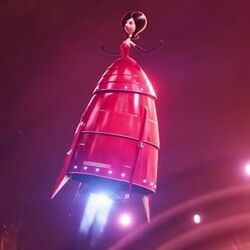 Scarlet Overkill rocket dress