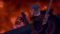 Judge Frollo Found Quasimodo & Esmeralda