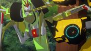 Kickback sidekicks Bumblebee