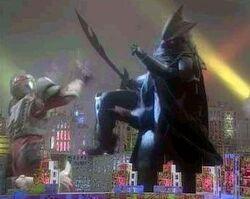 Gigantic Kahn Digifer vs. Gridman