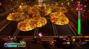 Skylanders Trap Team Spyro vs Pepper Jack Nightmare mode