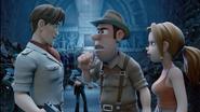 Tad & Sara realizing Max Mordon's betrayal