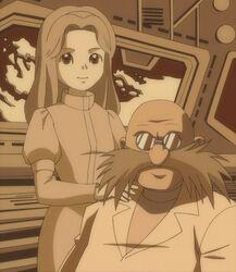 Professor Gerald Robotnik and Maria Robotnik