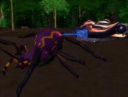 Spider'sGame Taratulas hauling stasis pod