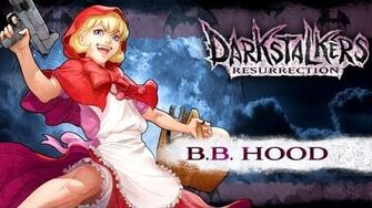 Darkstalkers Resurrection - Baby Bonnie Hood