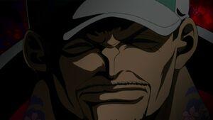 Akainu timeskip by orochimarusama1-d5tg6r5
