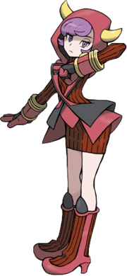 Courtney in Omega Ruby & Alpha Sapphire