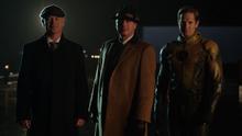 Damen Darhk, Malcolm Merlyn, and Eobard Thawne