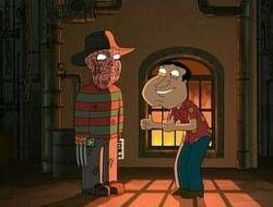 Freddy Krueger & Quagmire