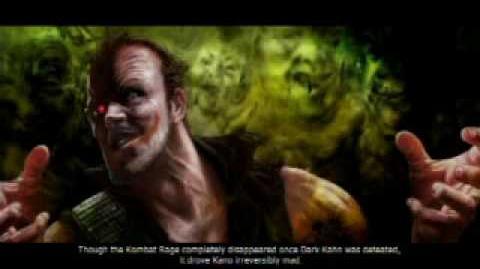 Mortal Kombat VS DC Universe Kano's Ending