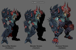 Nulgath's Evolution