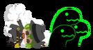 Hazama (Eat Beat Dead Spike-san)