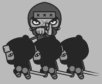 Tobe and ninjas